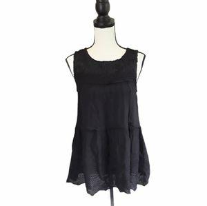 4/$25 Knox Rose Tiered Lace Boho Sleeveless Blouse